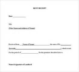 tenant receipt template doc 1380782 tenant receipt ontario landlord and tenant