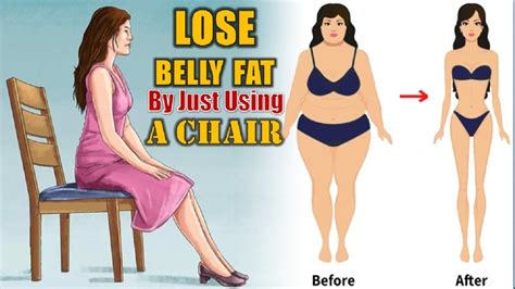 lose belly by just using a chair 5 chair exercises that reduce belly lose weight