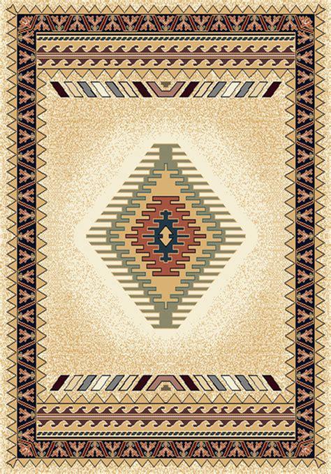 southwestern area rug 8x8 beige w fringes ebay