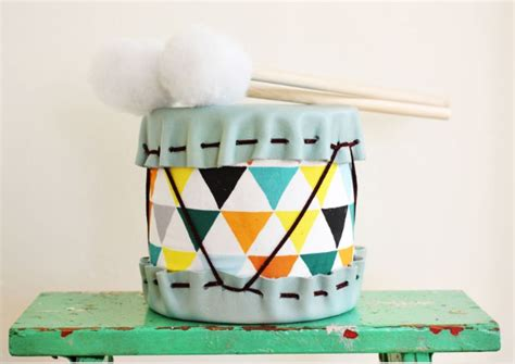 diy drums diy soup can drum munchkins and