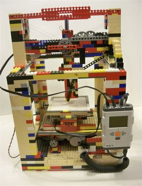 Lego Printer Tutorial | diy functional lego 3d printer build which is super cheap