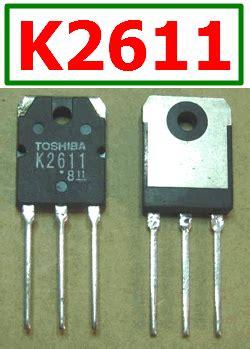 transistor mosfet k2611 transistor mosfet k2611 28 images k2611 datasheet datasheets manu page 6 silicon n channel