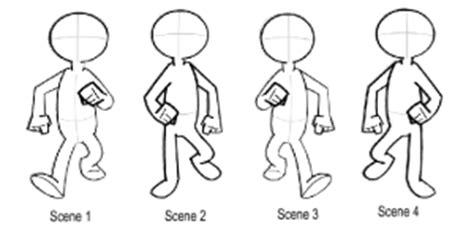 animasi 2d stickman frame by frame dagink