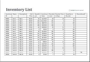 excel templates for inventory excel inventory sheet template