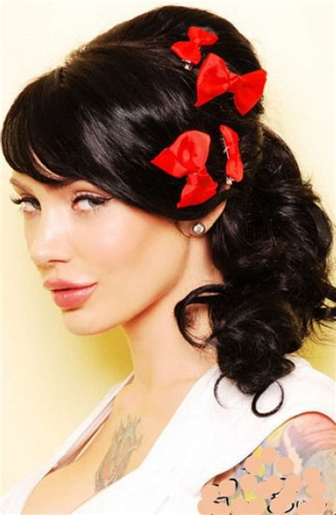 hairstyles for medium length hair pin up pin up hairstyles for medium hair