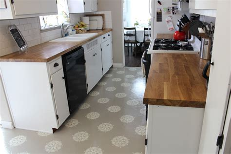 painted kitchen floor ideas a warm conversation work with what you got painted kitchen floors