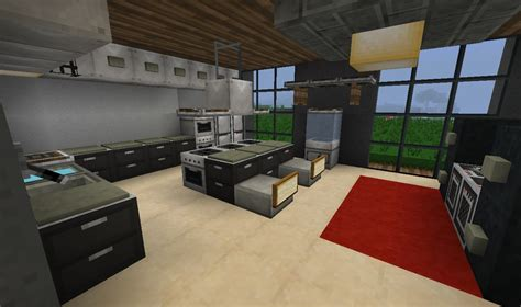 Kitchen Ideas For Minecraft Crimson Estates Residence Minecraft Project