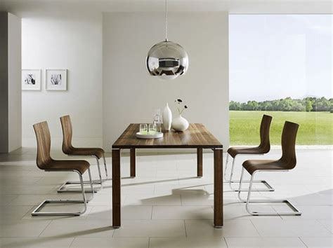 Attractive Decor With A Modern Dining Room Sets Dining Table Modern