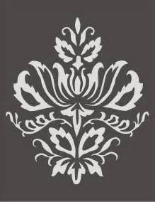 printable damask wall stencils www galleryhip com the hippest pics