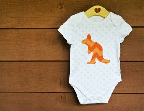 Handmade Baby Clothes Australia - kangaroo baby onesie australia day clothing childrens wear