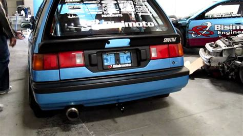 bisimoto wagon bisimoto 700whp d16 sohc wagon idle and 2