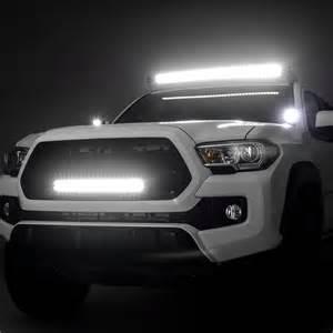 lights in tacoma zroadz 174 toyota tacoma 2017 hinge mounted led pod lights