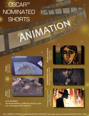 short film oscar nominees 2017 oscar nominated shorts animation tallahassee arts