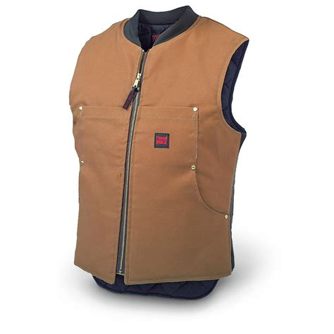 Work Online From Home Canada Free - richlu 174 tough duck quilted work vest 129232 vests at sportsman s guide