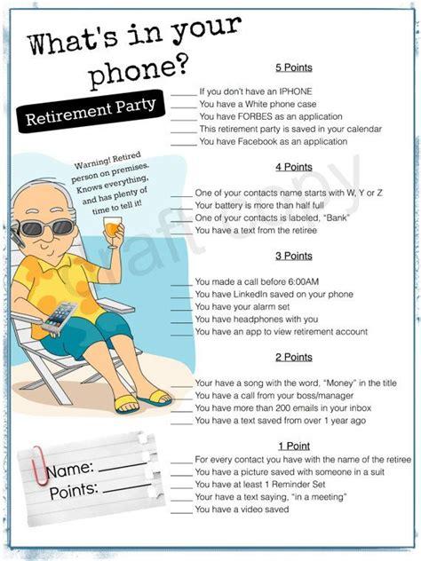 printable retirement games best 25 retirement invitations ideas only on pinterest