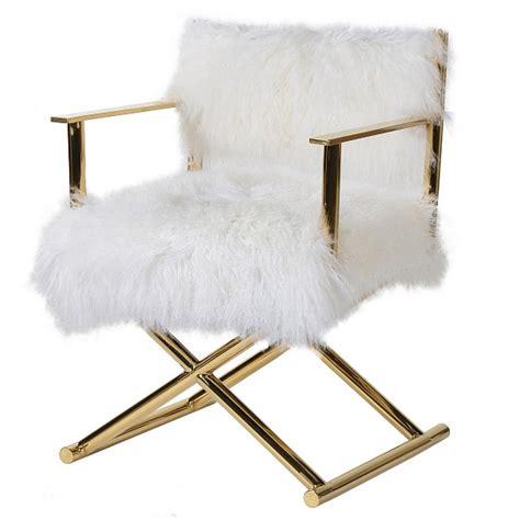 Mongolian Fur Chair by Mongolian Fur Chair Audenza