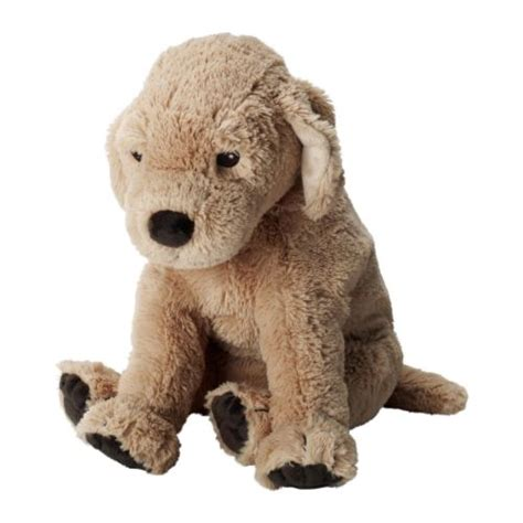 ikea dog gosig golden soft toy ikea