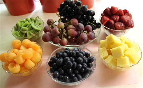 food of the month june 2012 rainbow fruit kabobs with