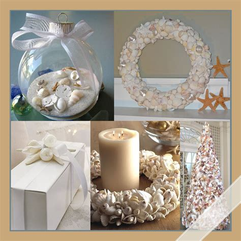 beach theme home decor a simple beach themed christmas amazing design for less