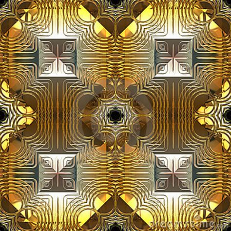 design pattern reflection gold and silver reflection seamless pattern royalty free