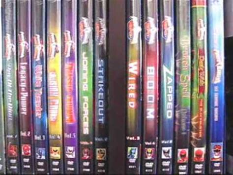 out of space and time volume 1 series 1 power rangers dvd collection