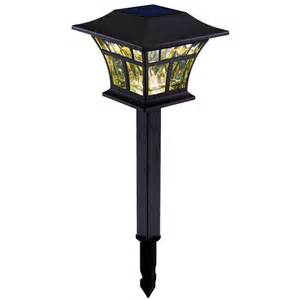 hton bay solar light hton bay outdoor solar powered landscape led