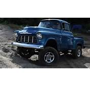 57 Chevy Step Side 4x4  YouTube
