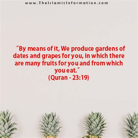 3 fruits mentioned in quran 6 fruits according to quran and sunnah that every one
