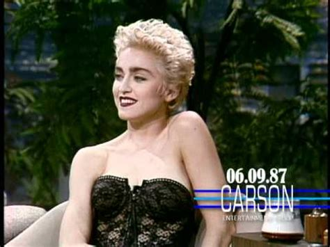 diane lane young interview madonna flirts in her 1st talk show interview on johnny