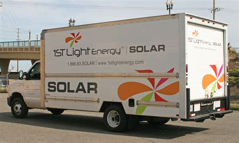 1st Light Energy by 1st Light Energy Box Truck Graphics Visual Horizons