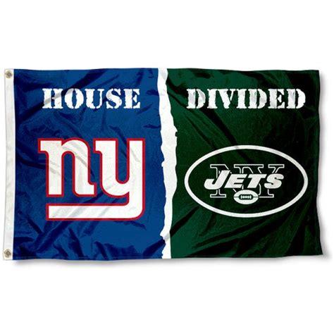 jets house ny jets vs ny giants house divided flag your ny jets vs ny giants house divided flag