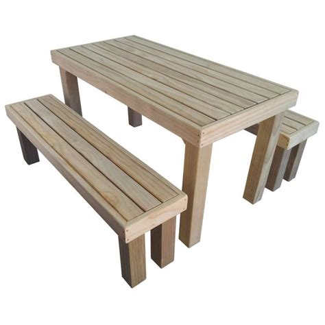 outdoor table and bench benches nz home decoration club