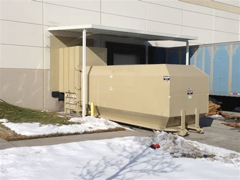 what is a trash compactor industrial waste management compactor system action