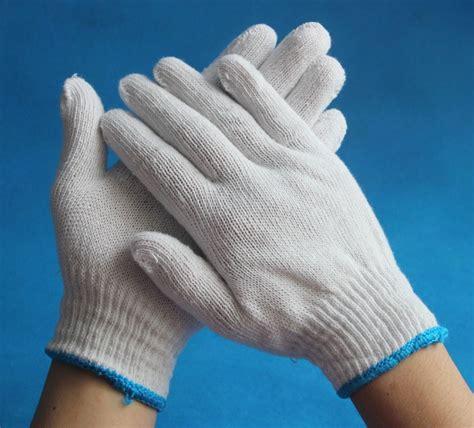 bulk knit gloves cotton gloves bulk working cotton knitted gloves