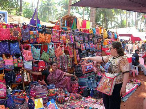 Buy India anjuna flea market goa shopping stuff and tips