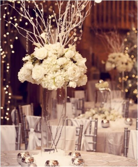 furniture vases for centerpieces ideas winter winter wonderlands that give us chills modwedding