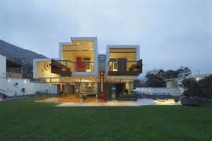 architecture home ancestral contemporary architecture 3d like volumes defining a house in peru freshome com