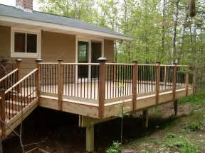 decks and porches mobile home porches and decks studio design gallery