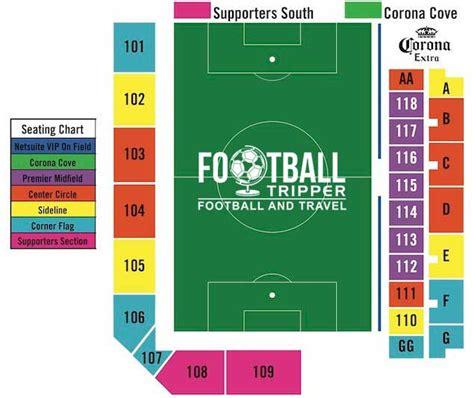 san jose earthquakes stadium map buck shaw stadium san jose earthquakes football tripper