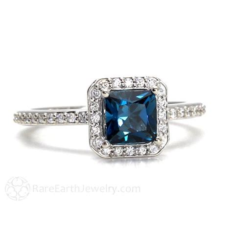 blue topaz engagement ring meaning engagement ring usa
