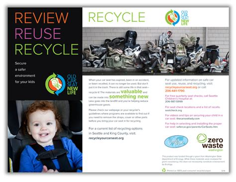 car seat recycling programs brand rollout for car seat new a child safety