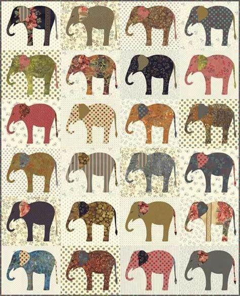 Elephant Applique Quilt Pattern by 25 Unique Elephant Applique Ideas On Elephant
