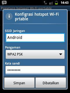 membuat jaringan wifi dengan hp android langkah langkah membuat hp android jadi modem pc laptop