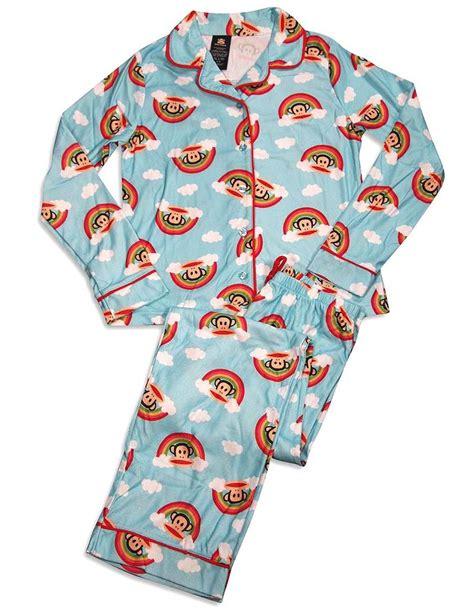 Pajamas Paul Frank Moustache paul frank sleeve monkey pajamas light blue pajamas sleepwear