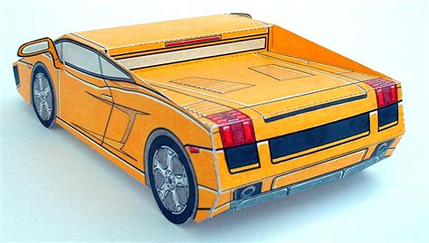 Paper Car - the gallery for gt papercraft lamborghini gallardo