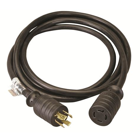 rodale 3 ft generator 30 3 prong extension cord to 15