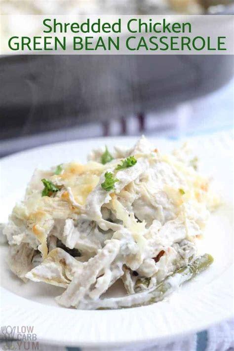 chicken green bean casserole gluten  keto