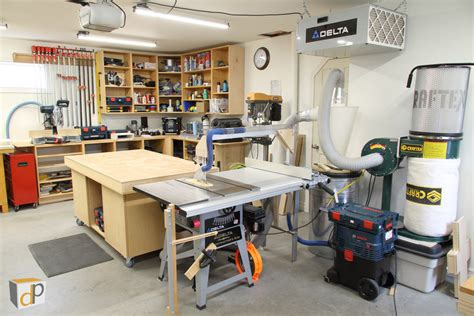 setting up a small woodworking shop small shop dust collection affordable effective
