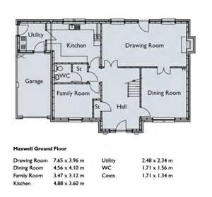 five bedroom house floor plans