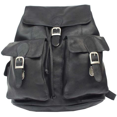 Buckle Backpack buckle backpack leather in backpacks